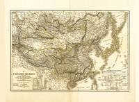 Map of China and Japan (1849)