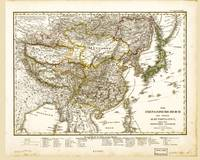Map of China and Japan (1833)