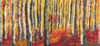 Change of Season  - Forest  Autumn Landscape