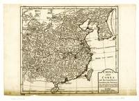 Map of China and Korea (1708-1717)