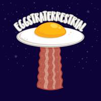 Eggstraterrestrial With Text