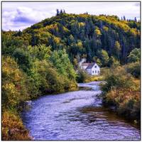 House on Margaree River