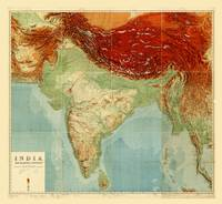 Map of India (1917)