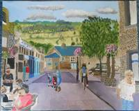 Hebden Bridge Acrylic Yorkshire Facing Bridgegate