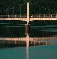 Cable-Stayed Bridge of Water Reservoir