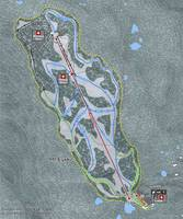 Mt Eyak Resort Trail Map