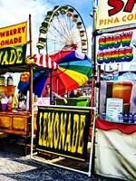 Lemonade and Snow Cones at the Fair