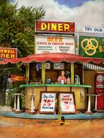 Diner - Try our 25 cent platter 1940