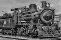 Steam Locomotive, Montevideo, Uruguay