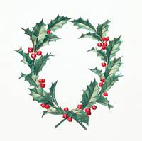 Christmas Wreath Illustrationf