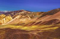 Colored Mountains Landscape, La Rioja, Argentina