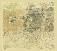 Map of Changchun, Jilin Province, China (1945)