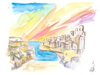 Polignano wonderful Morning in Southern Italy