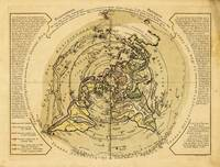 North Pole Centered World Map (1756)