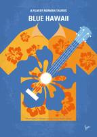 No1204 My Blue Hawaii minimal movie poster