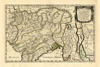 Map of India (1654)