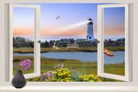 Window Lighthouse View
