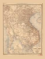 Map of Indochina (1895)