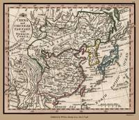 China and Chinese Tartary 1798 Map