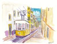 Lisbon Classical Unforgettable Yellow Tram Tour in