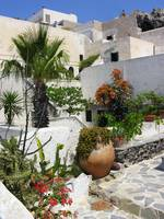 Just another garden - Fira Santorini