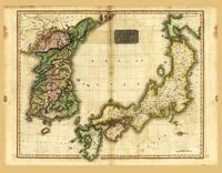 Map of Korea & Japan (1815)