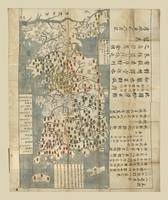 Map of Korea (1730)