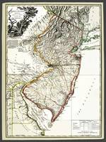 New Jersey Province 1778 Antique Map