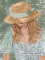 A LOVELY STRAW HAT