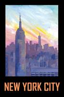 New York City USA Classical Retro Poster