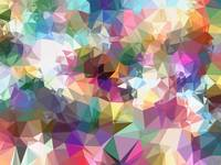colorful geometric triangle pattern abstract backg