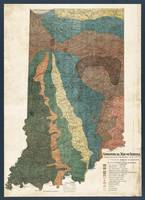 Indiana Geological Map1894