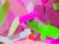 brush painting texture abstract background in pink