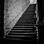 """Stairway from the Lower to the Upper Basilica di S"" by Conlawprof"