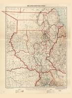 The Anglo-Egyptian Sudan Map (1928)