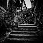 """Stairway, Les Baux de Provence, June 2004"" by Conlawprof"