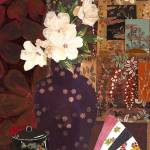 """Japanese Flowers and Patchwork"" by LauraHall"