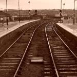 """Train Track - Sepia"" by PhotographybyLucinda"