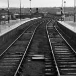 """Train Track - B&W"" by PhotographybyLucinda"
