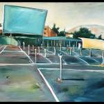 """Sunset Drive-In, San Luis Obispo"" by drewdavisfineart"