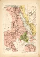 Map of Egypt (1885)