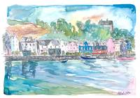 Tobermory Island of Mull Scotland Waterfront Scene