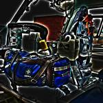 """Inside a Medical Helicopter (HEMS)"" by joefoto"