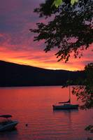 Sunset on Newfound Lake