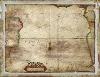 Map of the Southern Atlantic Ocean (1681)