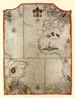 Atlantic Ocean Chart from 37° N to 42° S (1760)