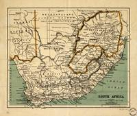 Map of South Africa (1899)