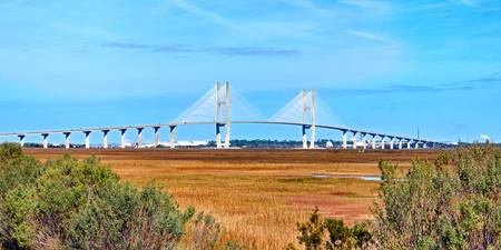 Sidney Lanier Bridge at Brunswick, GA
