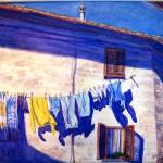 """Washday in Tuscany"" by carolynbishop68"