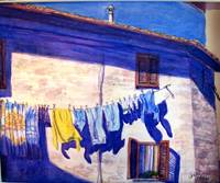 Washday in Tuscany